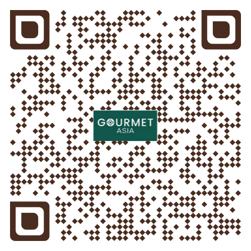 QR code to place order at Gourmet Asia