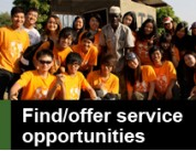 visit Find/offer service opportunities