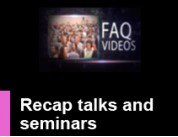 visit Recap talks and seminars