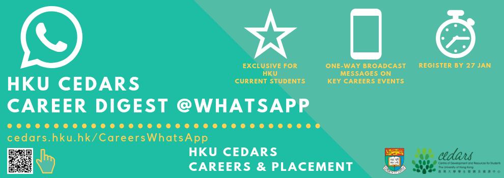 Career Digest @WhatsApp