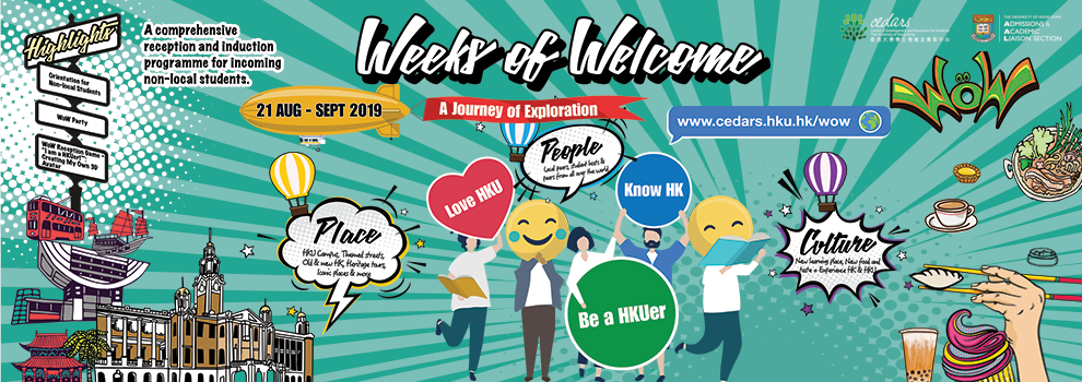 Weeks of Welcome