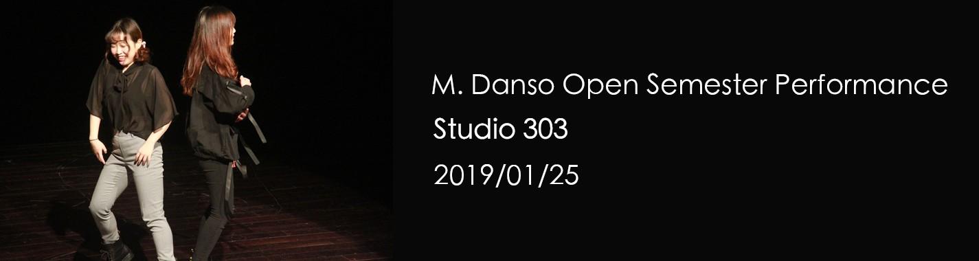 M. Danso Open Semester Performance