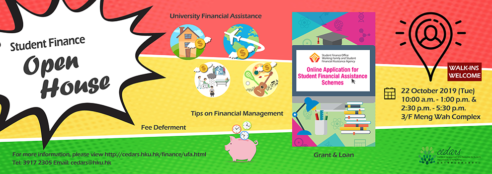 Student Finance – OPEN HOUSE