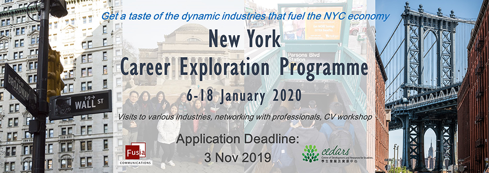 New York Career Exploration Programme