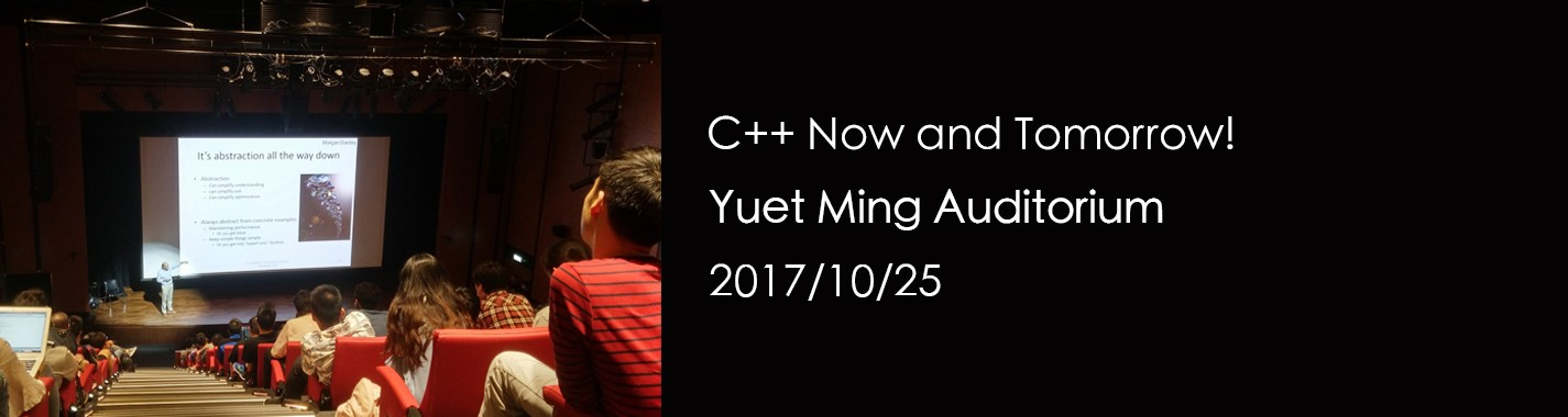 C++ Now and Tomorrow!