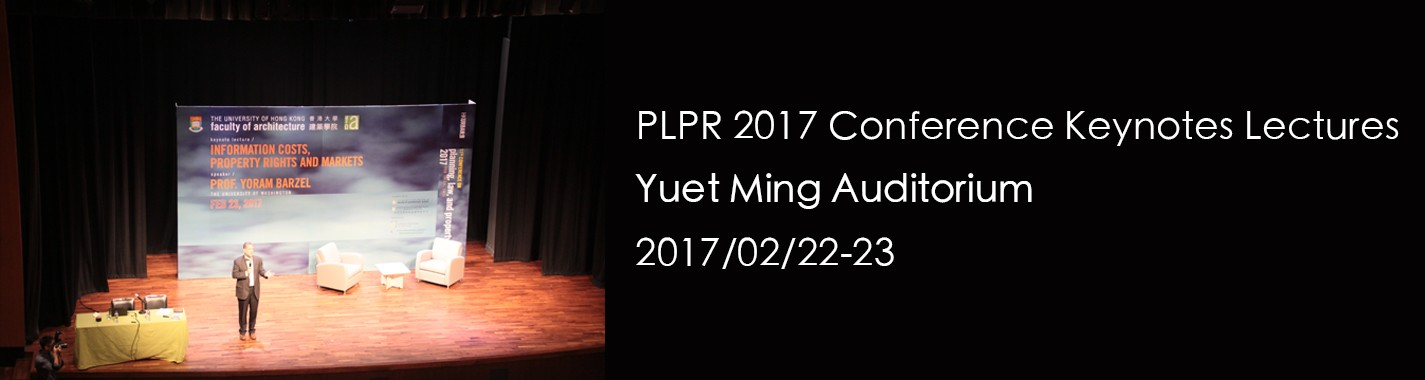 PLPR 2017 Conference Keynotes Lectures