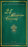 read 24th Recognition Ceremony