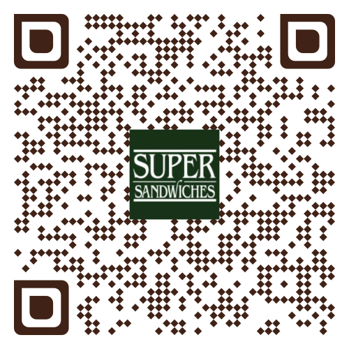 QR Code to place order at Oliver's Super Sandwiches