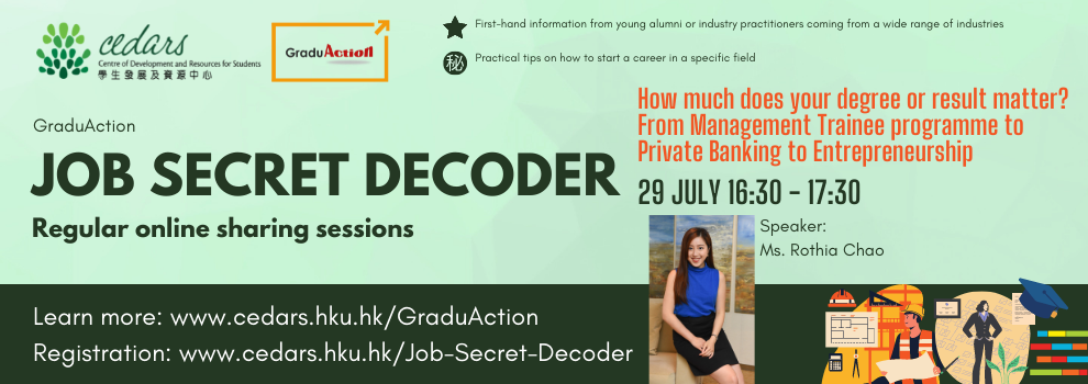 Job Secret Decoder 29 July 2021