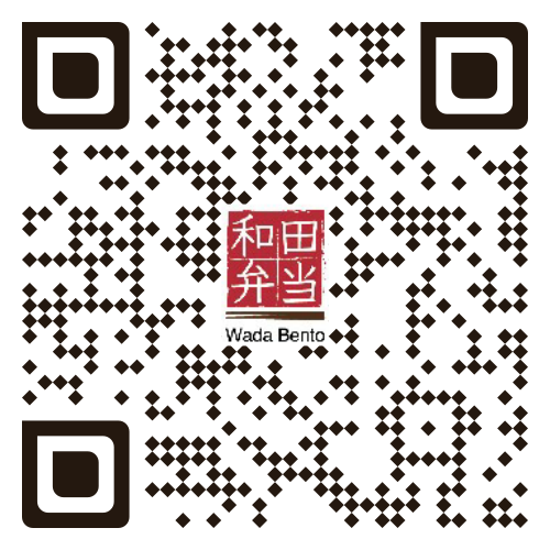 QR code to place order at WADA bento