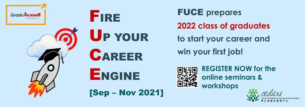Fire Up your Career Engine (FUCE)