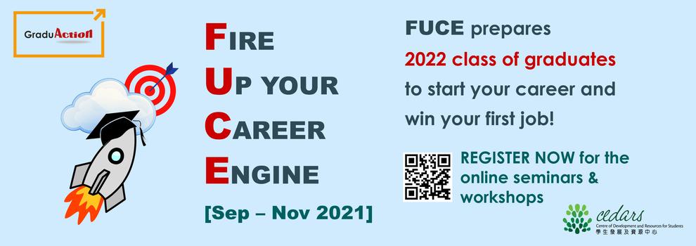 FUCE Zoom Career Seminars & Workshops
