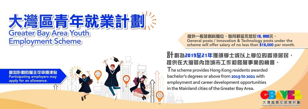 Greater Bay Area Youth Employment Scheme (GBA YES)