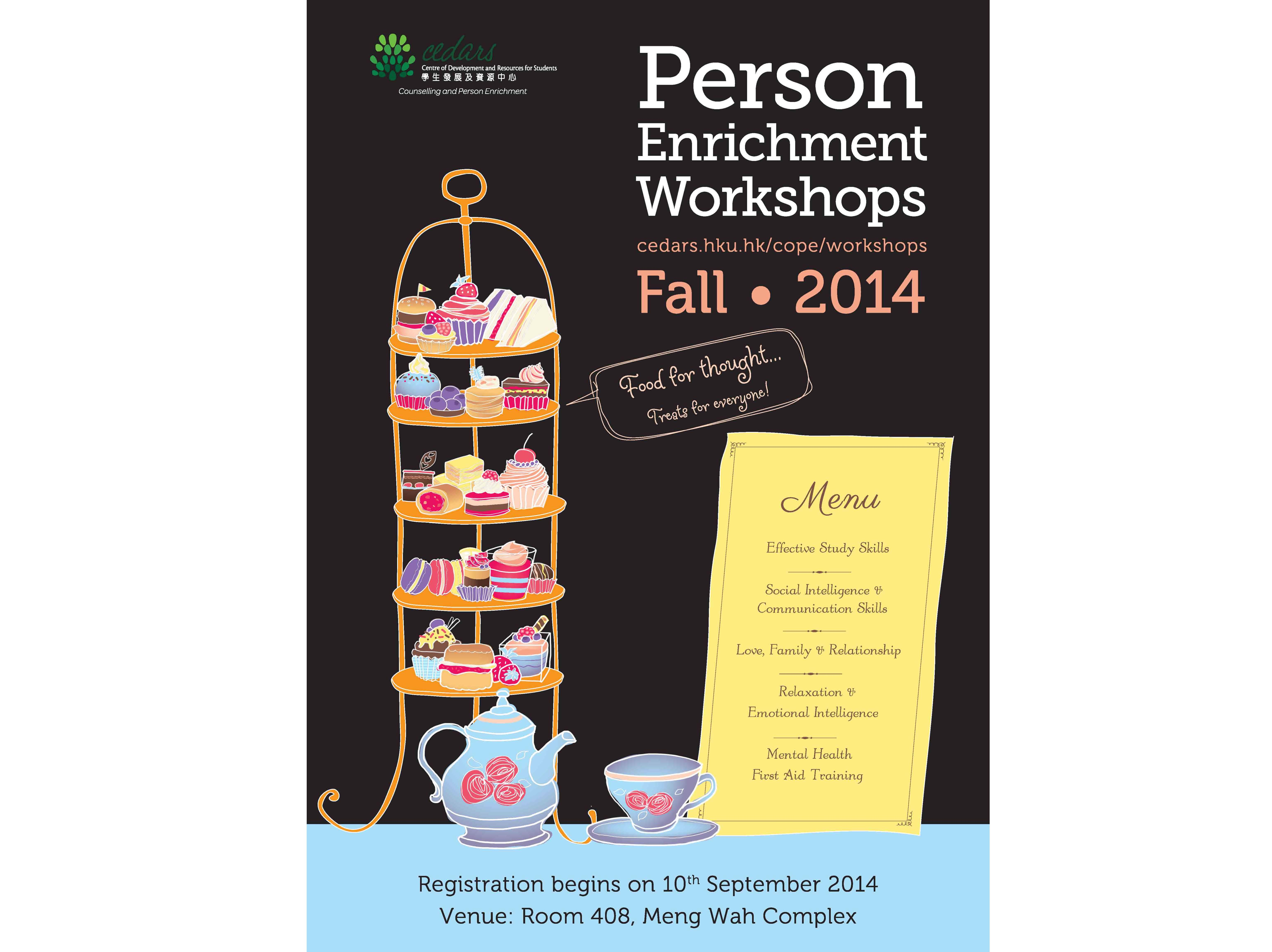 Person Enrichment Workshops