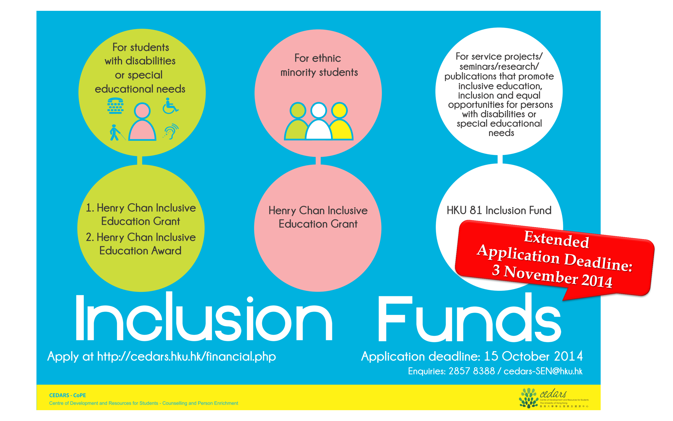 Inclusion Funds App DL extended