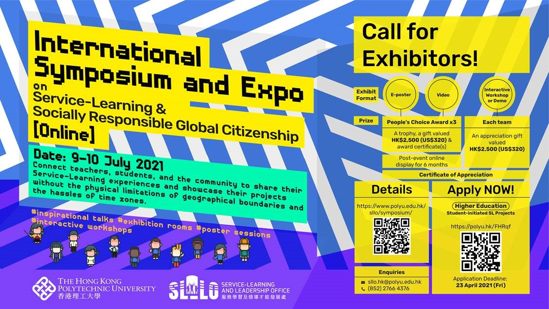 read International Symposium and Expo on Service-Learning and Socially Responsible Global Citizenship (Application Deadline: 23 April 2021)