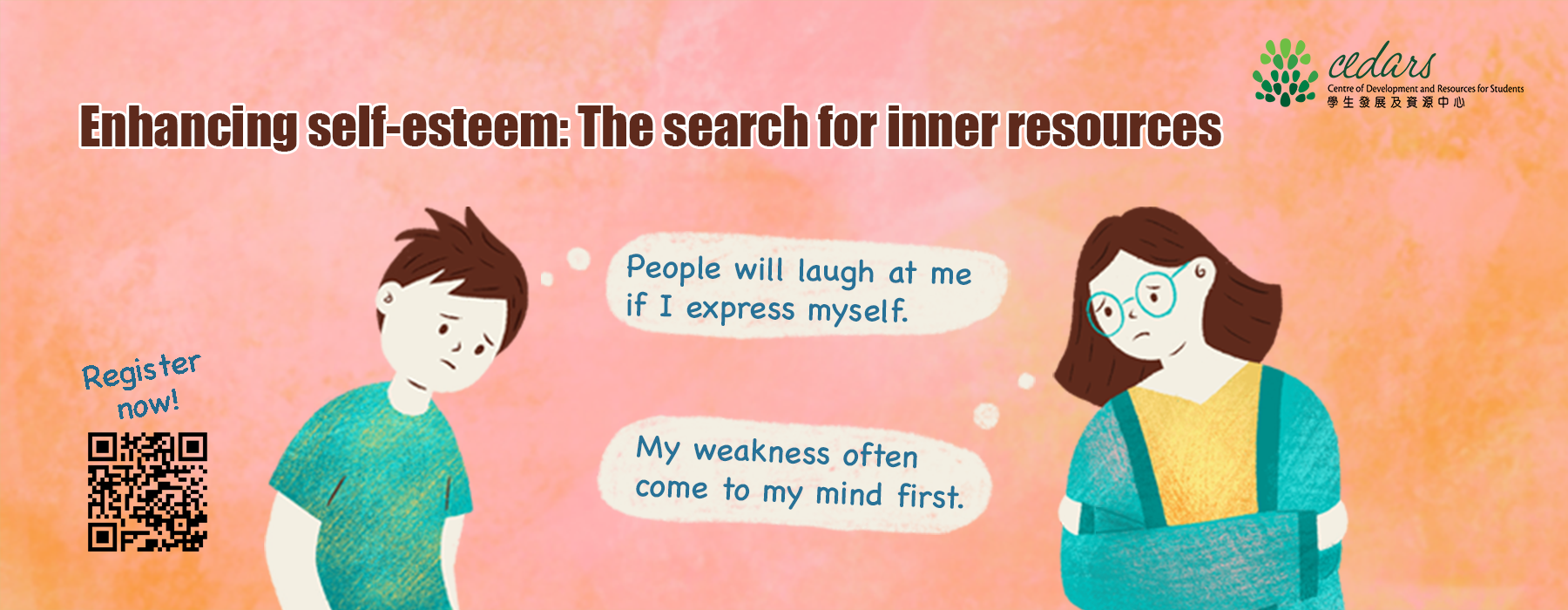 Enhancing Your Self-esteem - Workshop