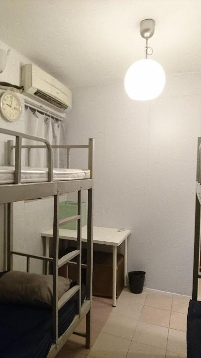 100 sq.ft. – Bunker Bed