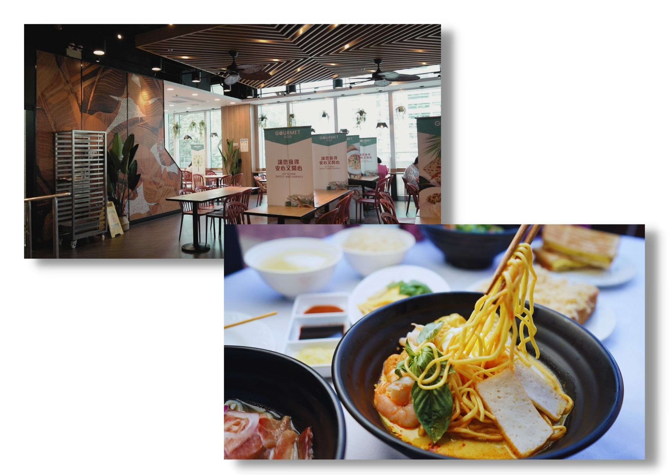 Gourmet Asia Outlet and Food